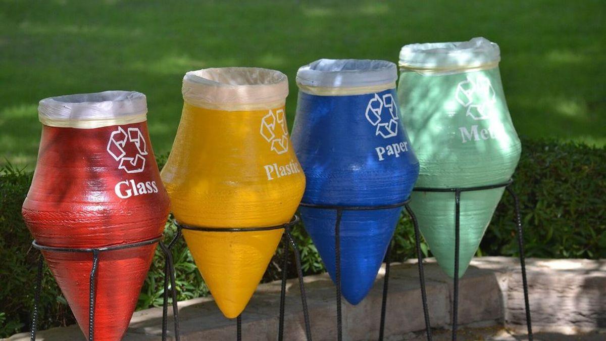 Qué contener de reciclaje usar: qué significa cada color