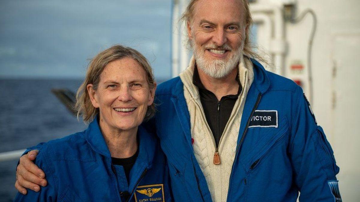 Kathy Sullivan vuelve a hacer historia: es la primera mujer en llegar al punto más profundo del océano