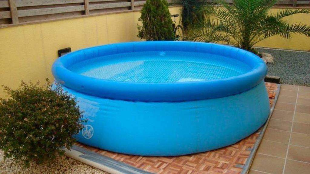 Los riesgos de poner una piscina hinchable en tu terraza o azotea