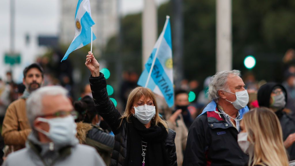 Argentina es la economía más golpeada por el coronavirus en América Latina, según la OCDE