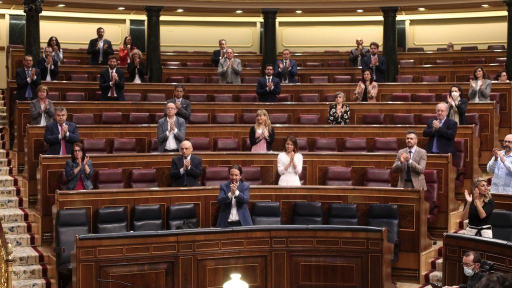 Debate en el Congreso de convalidación del IMV