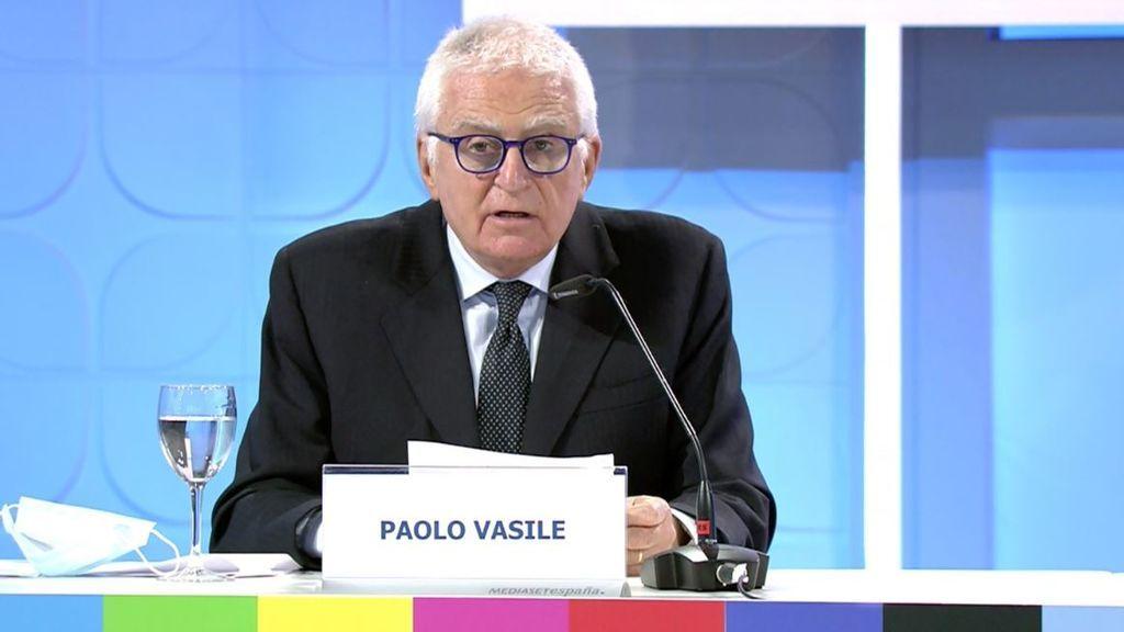 """El consejero delegado de Mediaset España, Paolo Vasile, llama a  """"renacer más fuertes, mejores"""""""