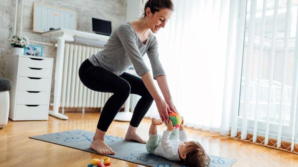 Podrás realizar algunas tablas de ejercicios junto a tu hijo.