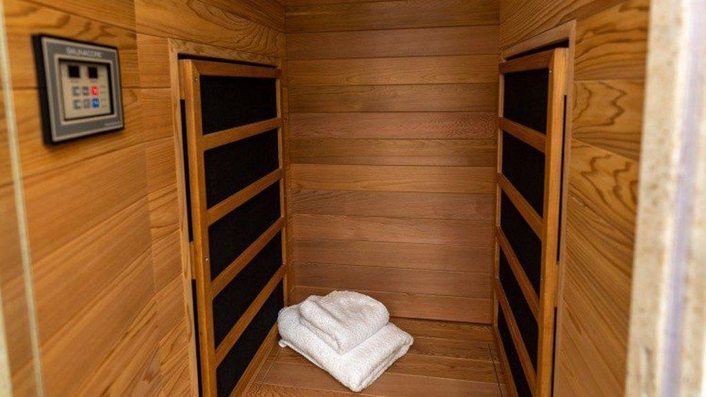 Sauna del autobús de Justin Bieber