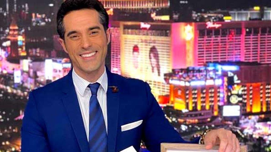 Antonio Texeira, presentador de NBCUniversal Telemundo en EE.UU.