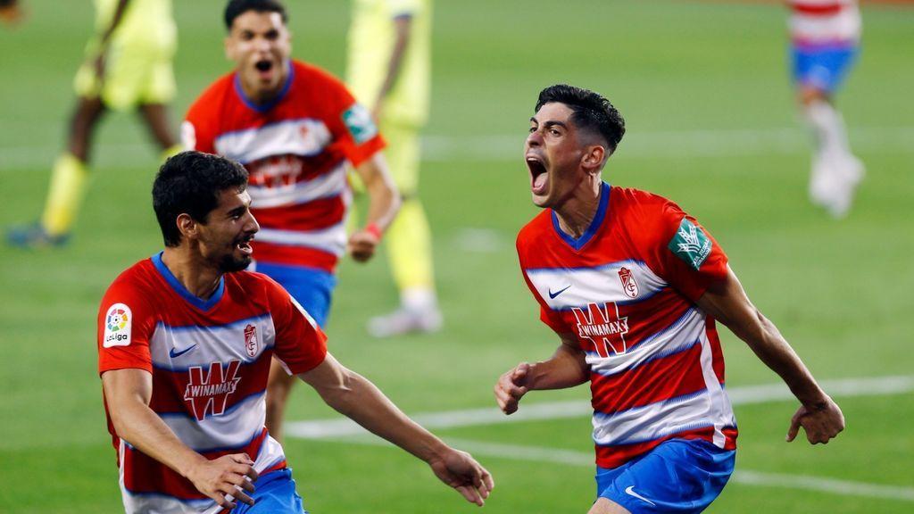 El Granada quiere soñar con Europa tras remontar al Getafe (2-1)