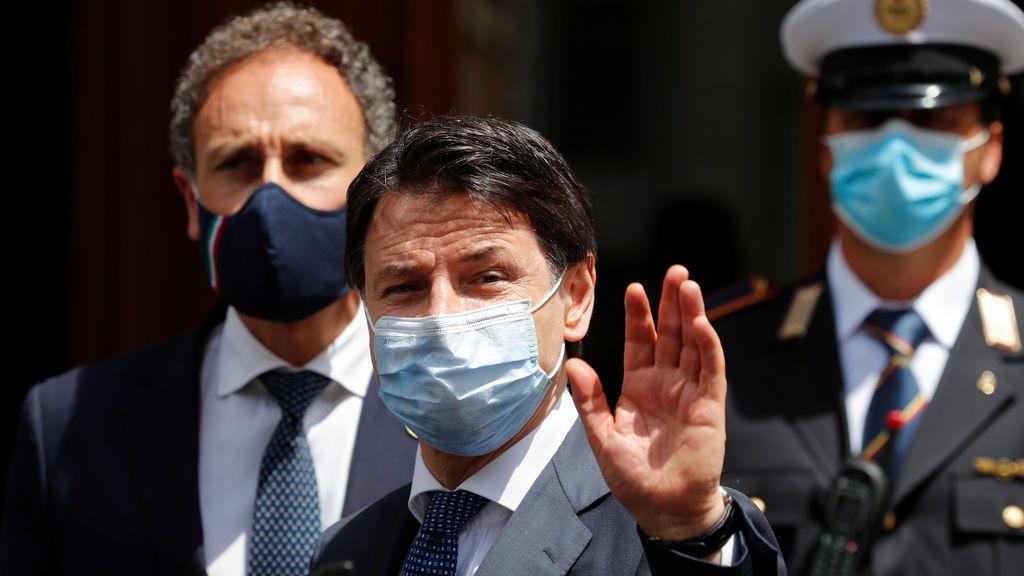 Conte lanza sus 'Pactos de La Moncloa' a la italiana y la oposición los rechaza