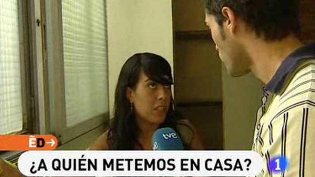 Antonio Texeira, en uno de sus reportajes para 'España Directo'