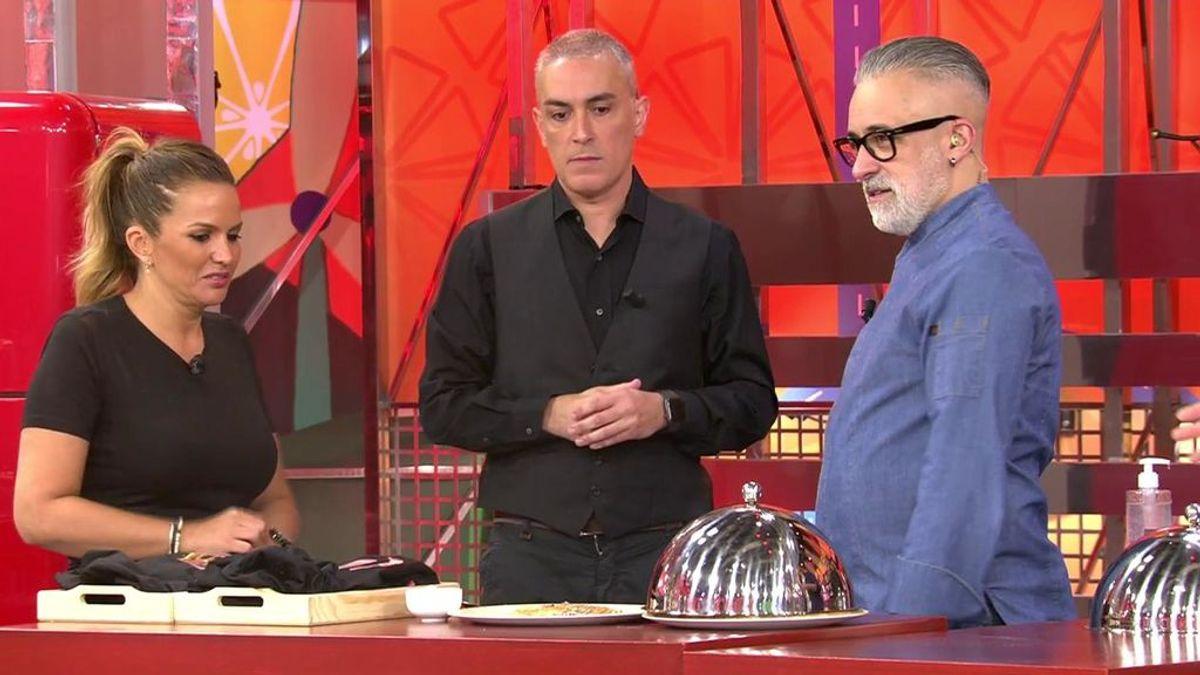 Kiko Hernández y Marta López preparan la cena de hoy: vota la nota que se merecen