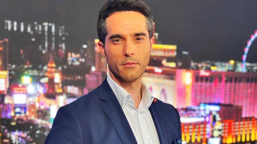 Antonio Texeira, presentador de noticias en la cadena NBCUniversal / Telemundo