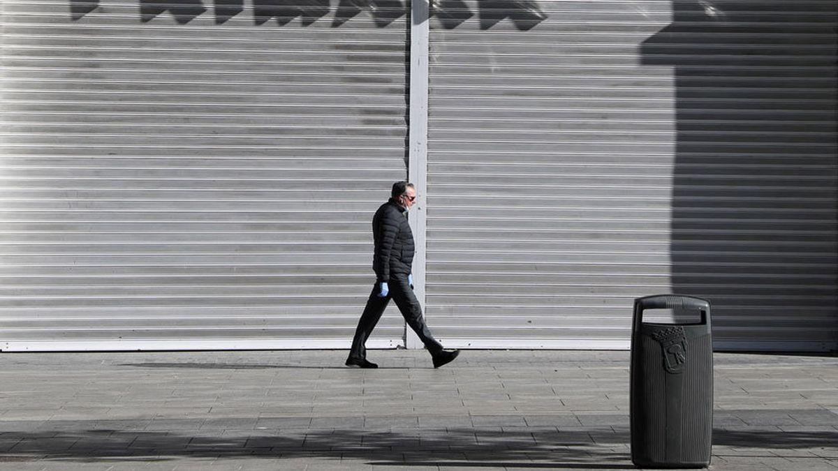 La economía española tocó fondo en abril, con los peores indicadores de su historia