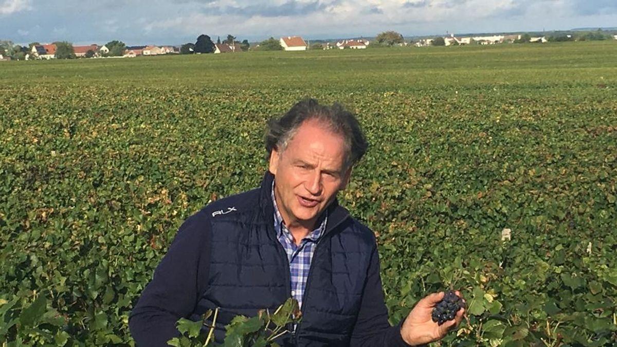 Alfonso Carrascosa, el vino y el tiempo