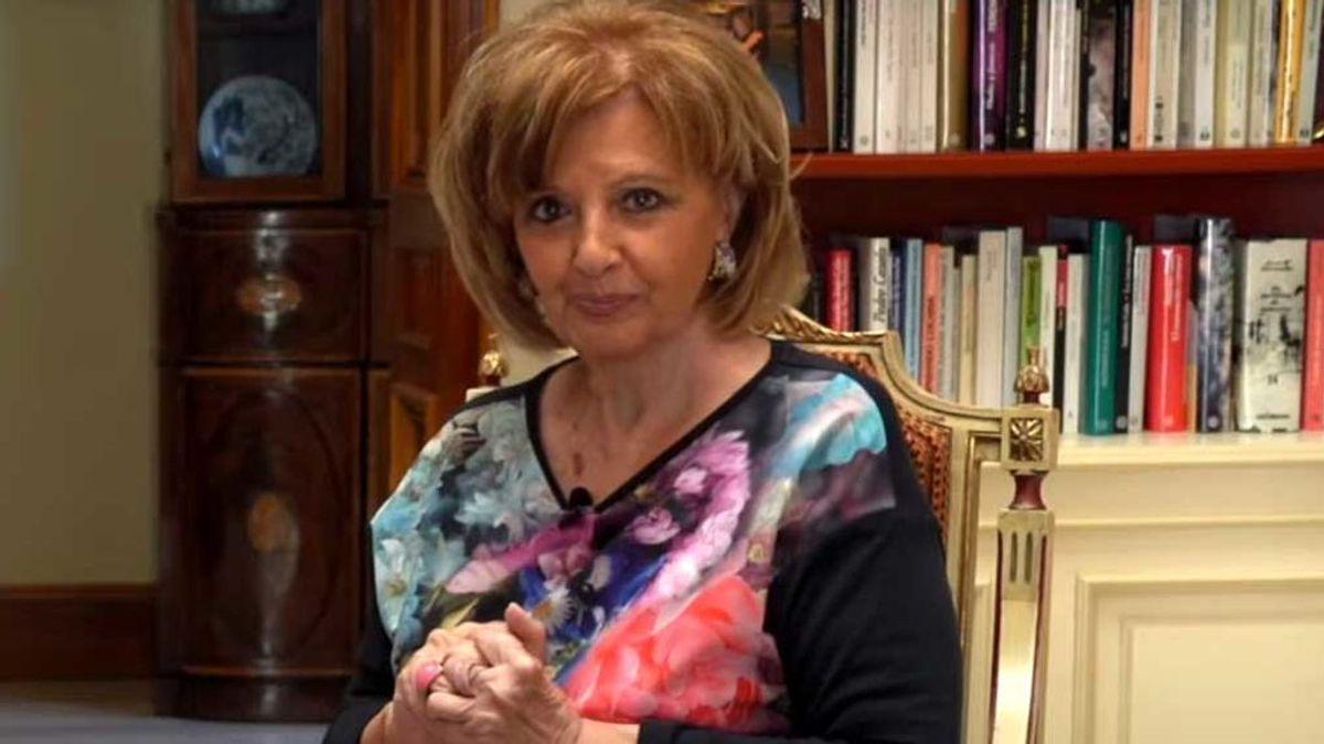 María Teresa Campos en su programa de Youtube