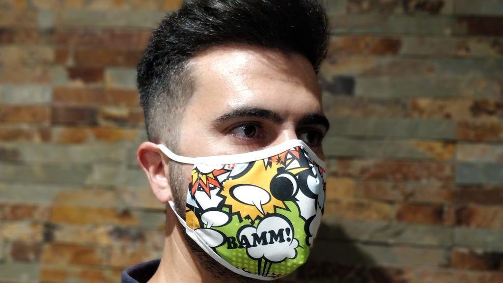 Mascarillas personalizadas: cuando la obligación se convierte en moda