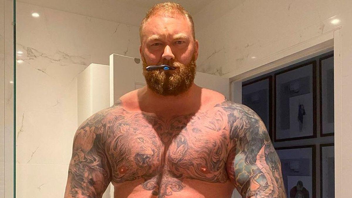 Pierde más de 20 kilos en un mes: la transformación de La Montaña para pelear contra La Bestia