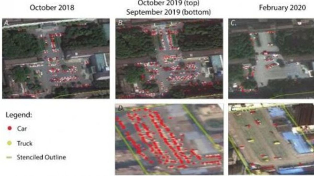 Unas fotografías vía satélite probarían que el coronavirus existe desde agosto de 2019
