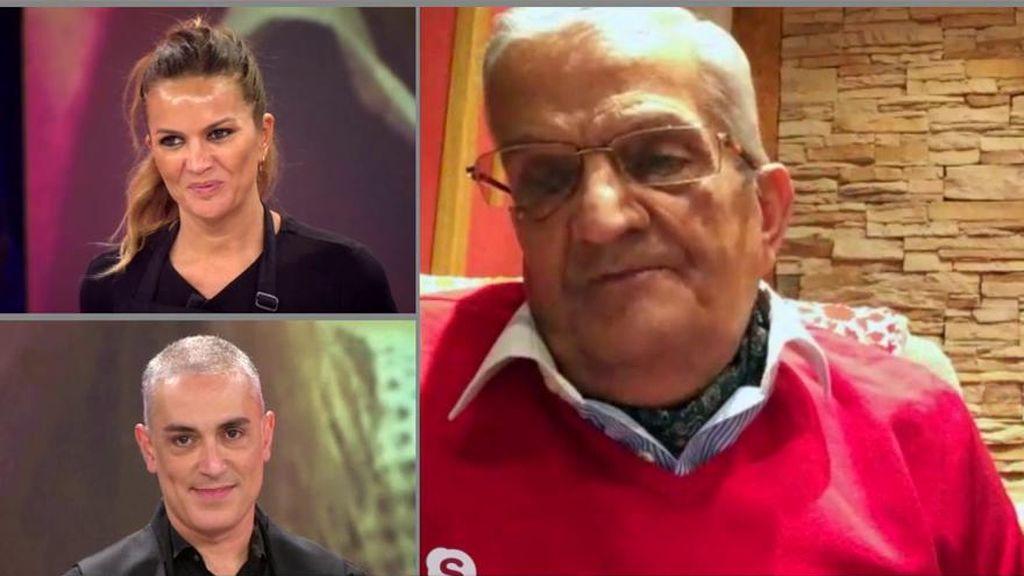 Teyo, el padre de Marta López, habla sobre la ruptura de su hija con Alfonso Merlos