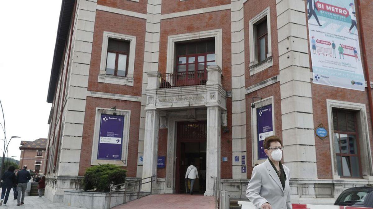 Aumentan a 47 los positivos por coronavirus en los focos de los hospitales de Bilbao y Vitoria