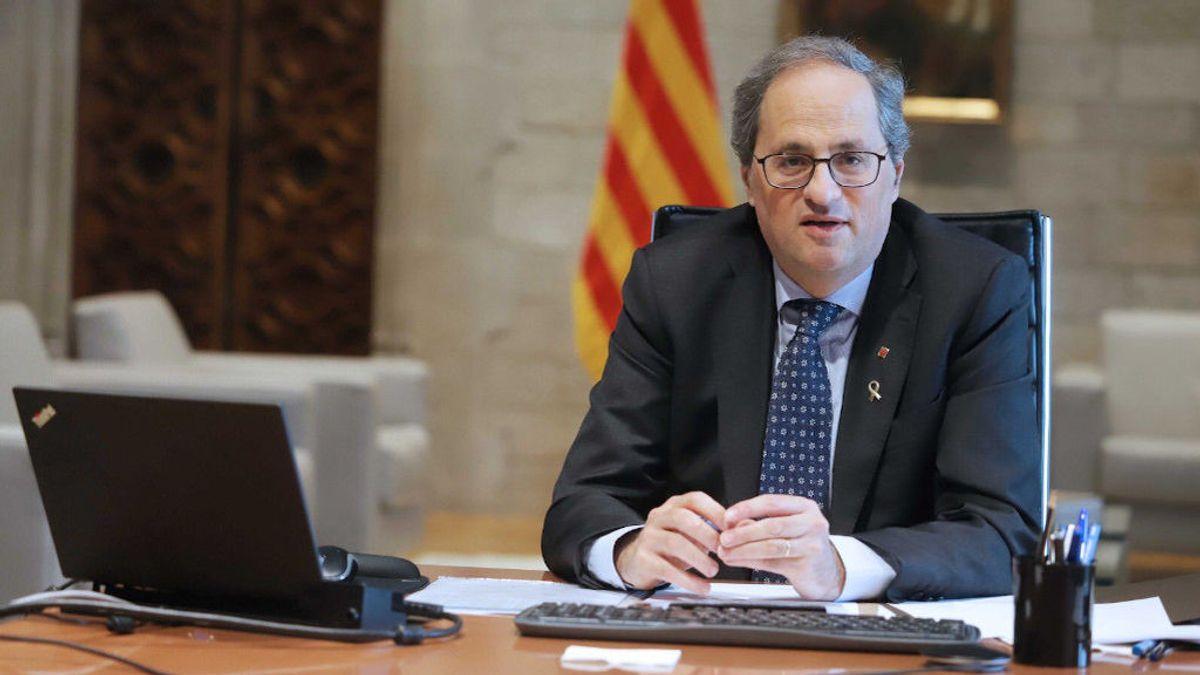 Torra informa a Sánchez de que pedirá que Barcelona y Lleida pasen a fase 3 la semana que viene