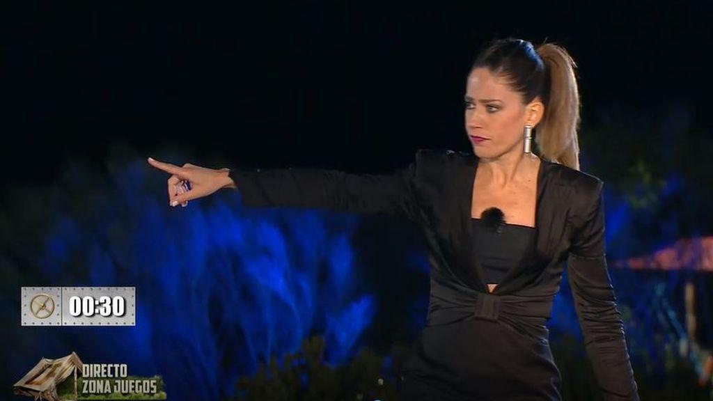 """Nuria Marín tiene que llamar la atención a los concursantes tras sus quejas durante la prueba: """"Esto es para divertirnos"""""""