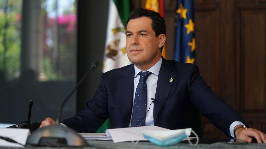 Juanma Moreno pide a Pedro Sánchez financiación para combatir rebrotes o nuevas pandemias