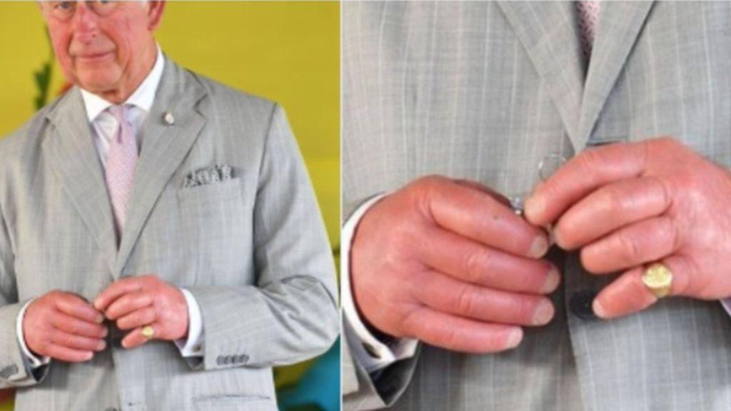 La foto de las manos del príncipe Carlos de Inglaterra levanta numerosos rumores