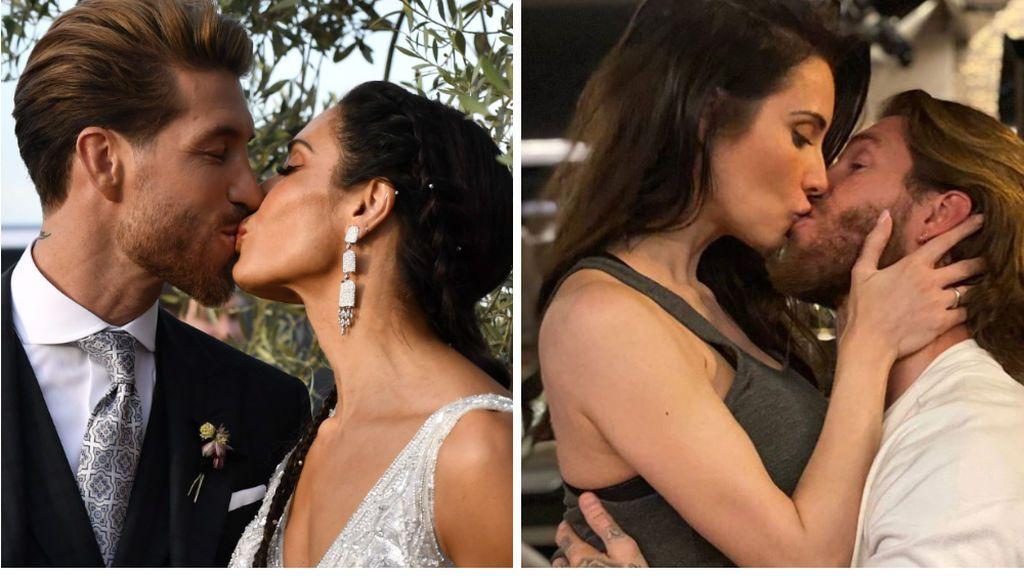 """El mensaje de Sergio Ramos a Pilar Rubio en el primer aniversario de su boda: """""""