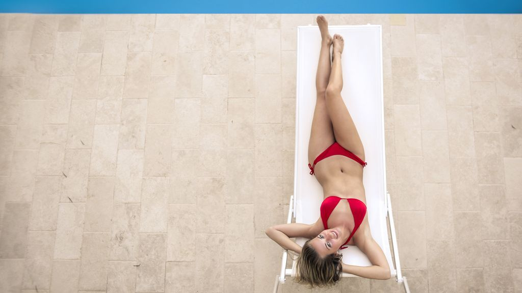 Bikinis con clase para mujeres con más de 50 con talla grande de pecho
