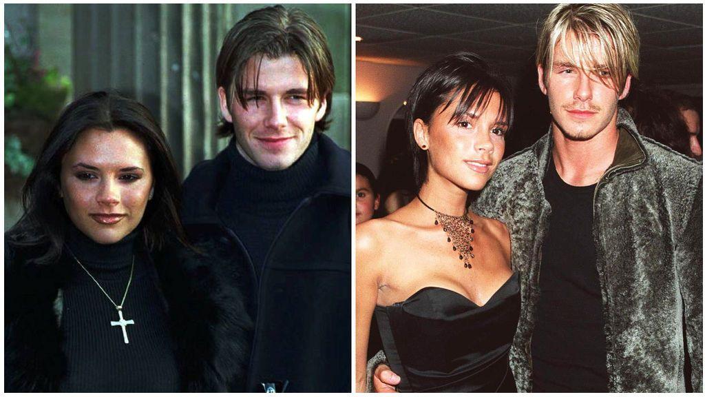 Victoria y David Beckham se conocieron en un partido de fútbol benéfico.