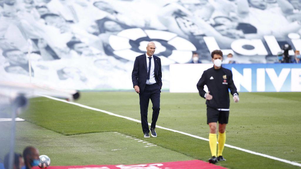 El enfado de Zidane con sus jugadores: de la relajación en la segunda parte, a la pasividad de algunos jugadores