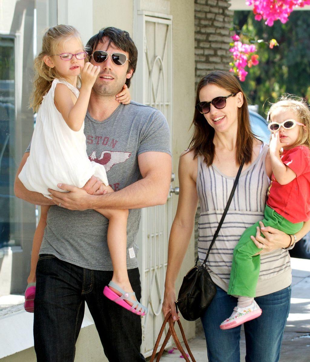 Ben Affleck, Jennifer Garner de compras por Los Angeles