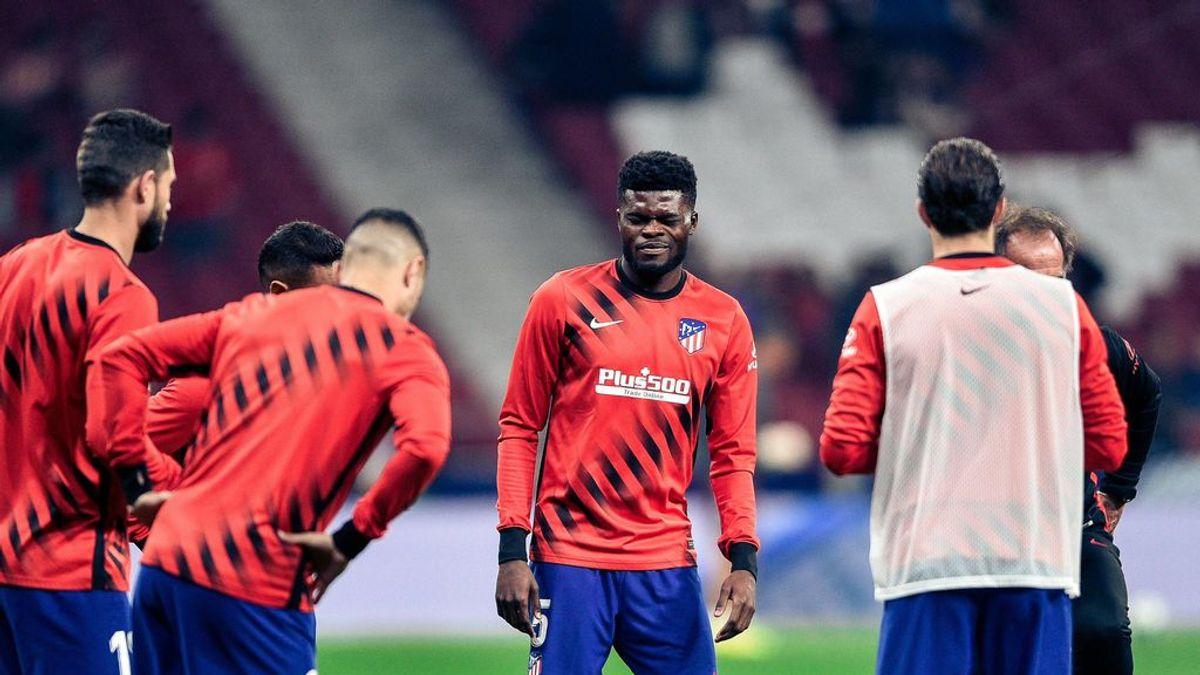 En el Atlético dan por perdido a Thomas y temen que se descentre de cara a lo que queda de temporada