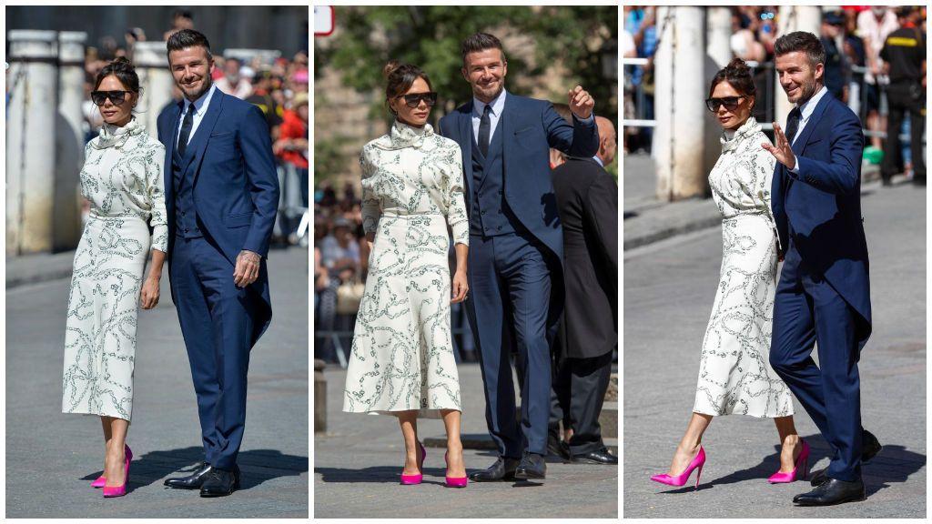 ¿Se saltó Victoria el protocolo en la boda de Pilar Rubio y Sergio Ramos?