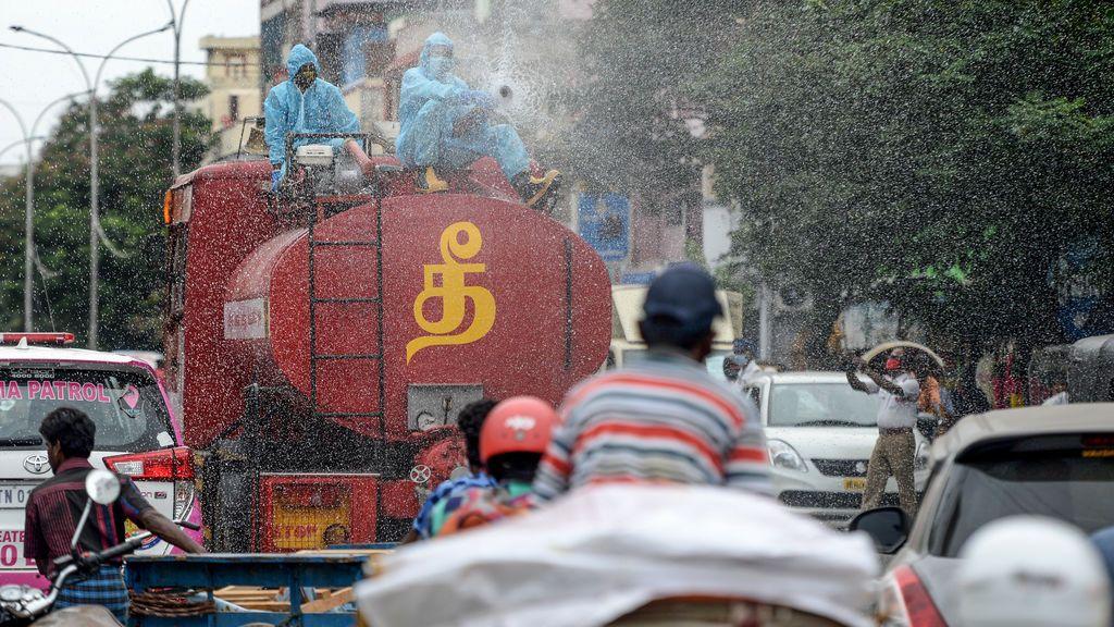 India confina 15 millones de personas en la ciudad de Chennai por repunte de casos de coronavirus