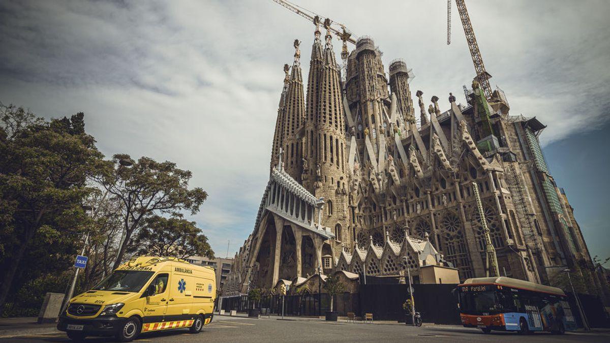La Sagrada Familia reabre por fases: primero sanitarios, luego ciudadanos de Barcelona y luego turismo