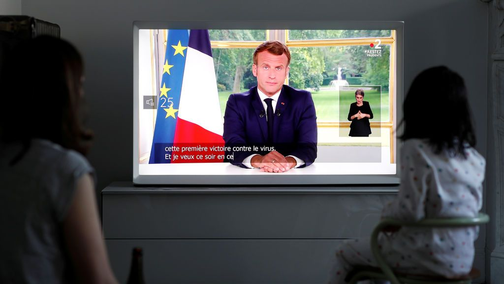 Macron ordena la vuelta al cole de todos los niños desde el 22 de junio