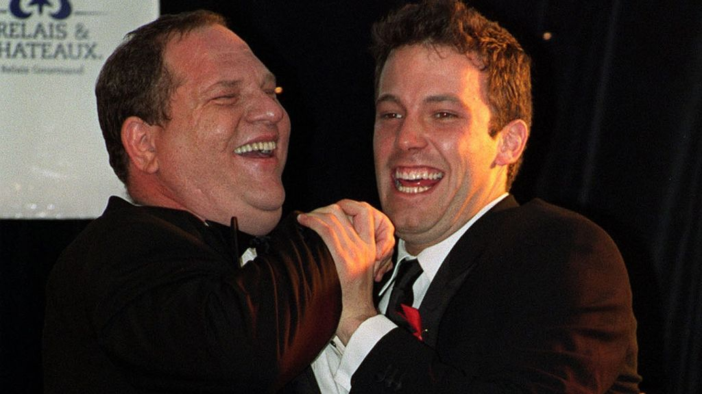 Affleck y Harvey Weinstein