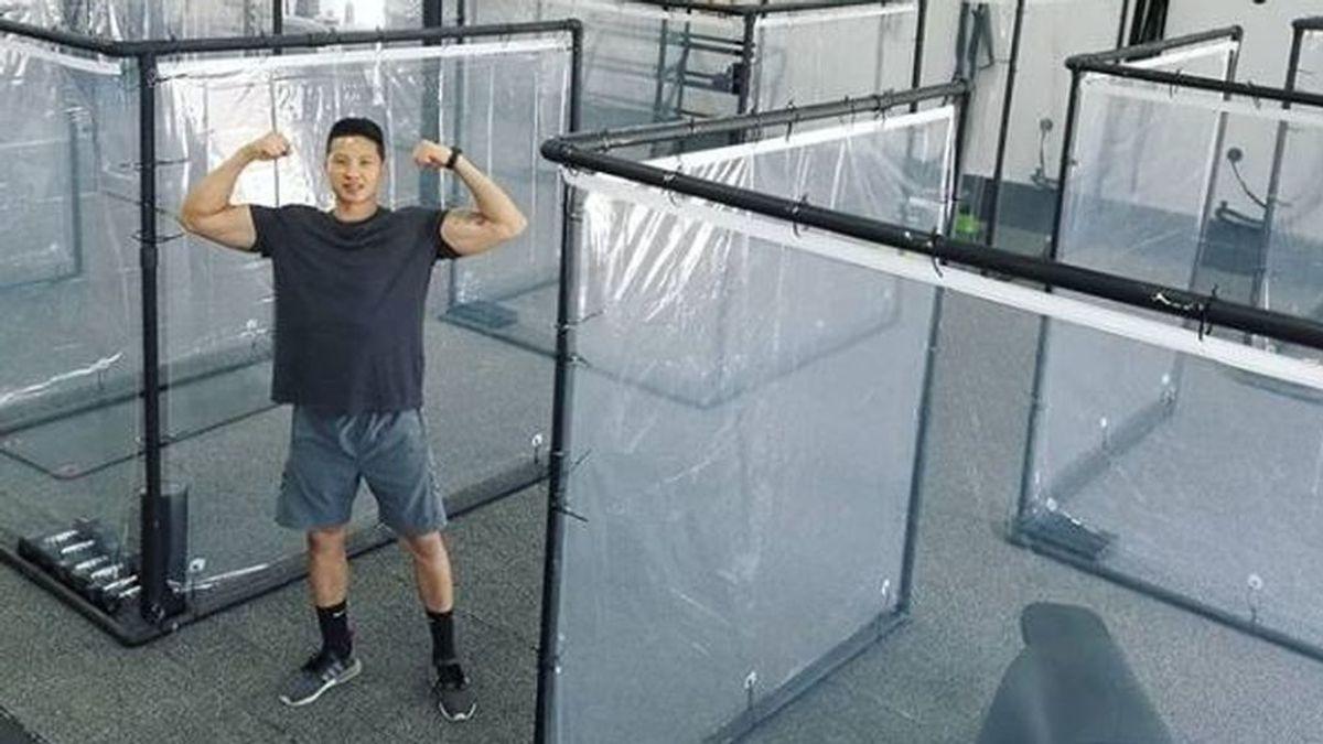 Cápsulas individuales en el gimnasio: la solución para mantener el distanciamiento social