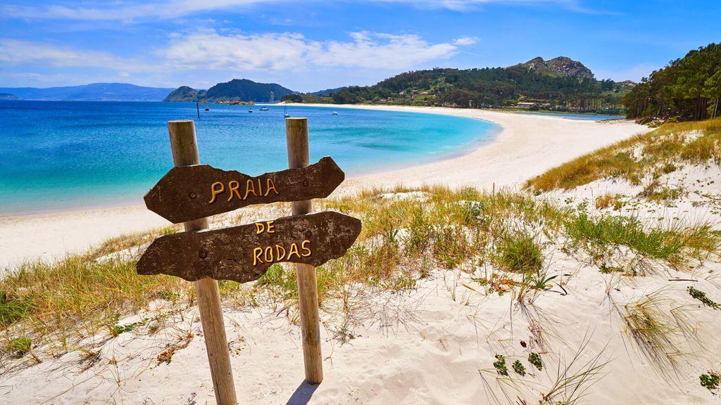 Las Islas Cíes es un paraíso en Galicia.