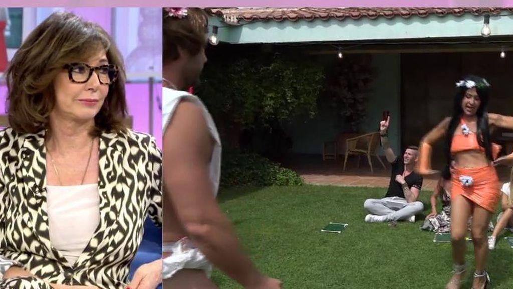 La reacción de Ana Rosa al escuchar que Sofía y Mayte comparten su consolador