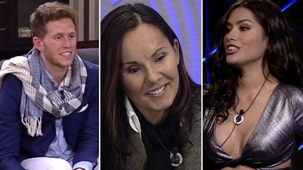 Gonzalo Montoya, Raquel Morillas y Miriam Saavedra