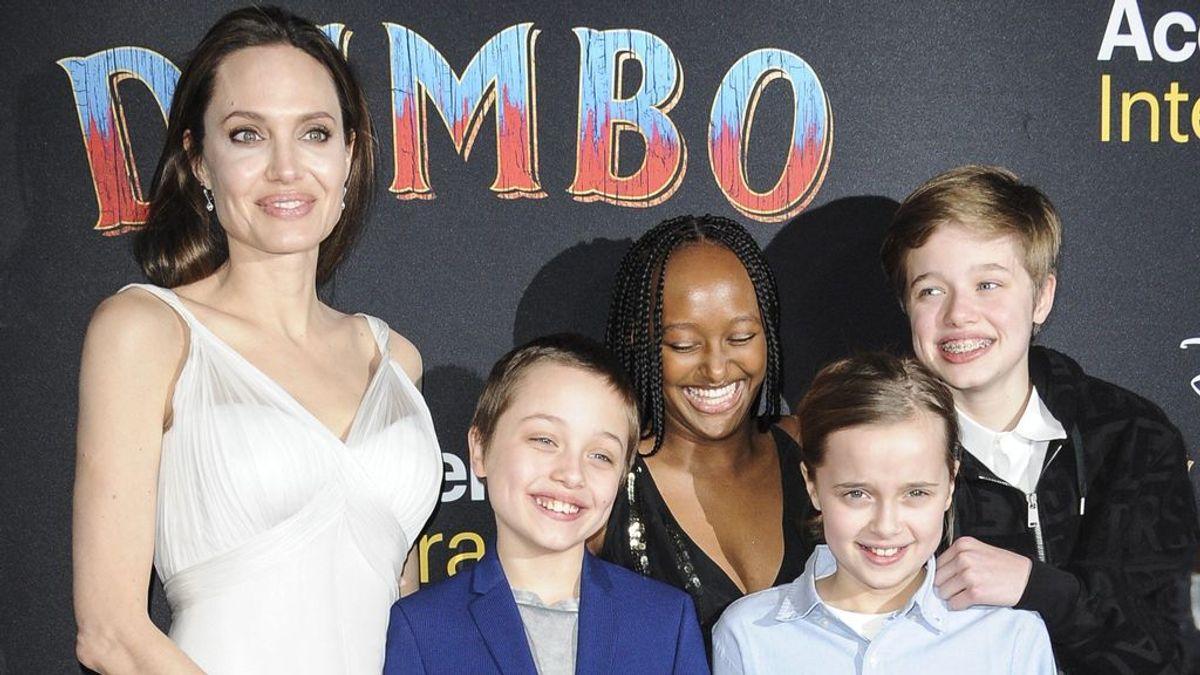 """La solución de Angelina Jolie a la tristeza de su hija Vivienne tras el fallecimiento de su mascota: """"La han ayudado"""""""