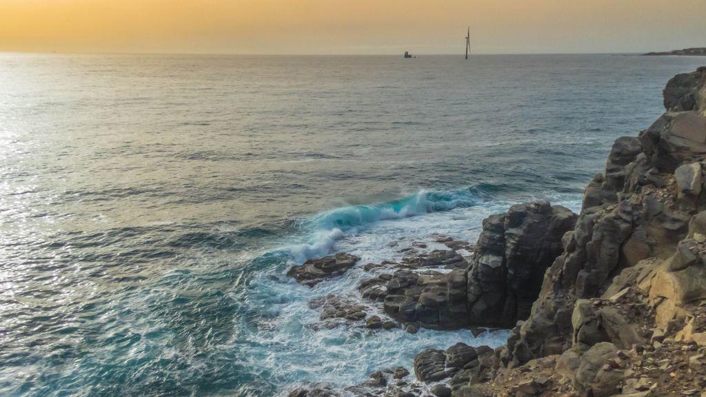 Ambiente polvoriento en Canarias: la concentración de calima quintuplica el umbral