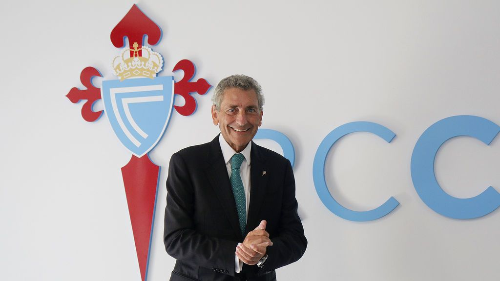 Carlos Mouriño, cuando lo celeste se tiñe de vino