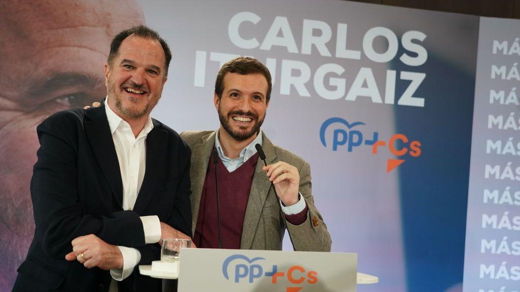 Casado presenta a Iturgaiz como candidato a Lehendakari