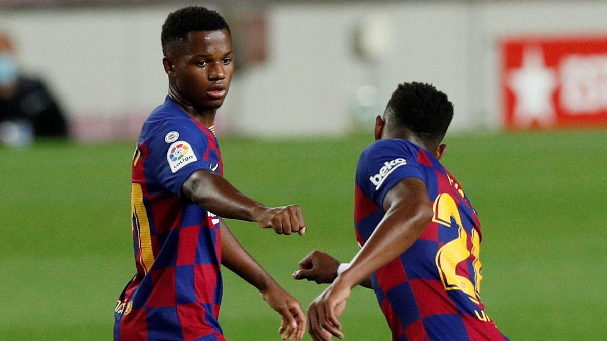 El gol de Ansu Fati que pone más nervioso a Bartomeu: quiere minutos y le sobran las ofertas para irse del Barça