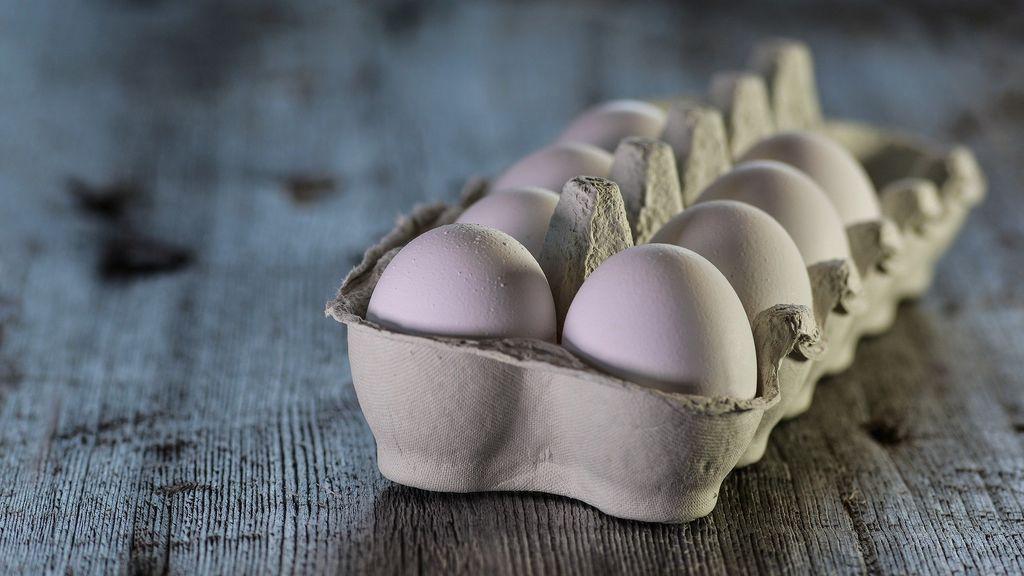 Los huevos pueden contener salmonela