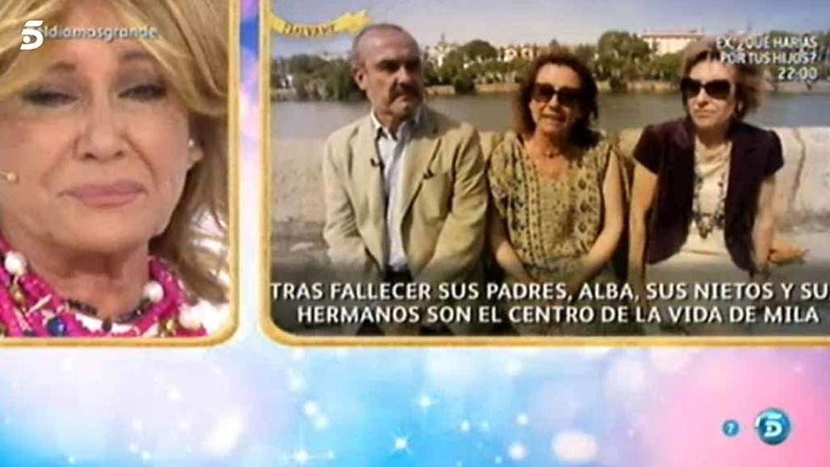 La lucha contra el cáncer de Mila Ximénez: sus hermanos también se enfrentaron a la enfermedad