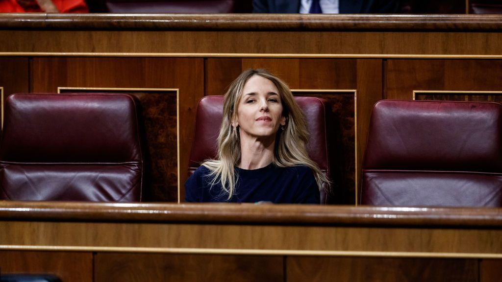 Cayetana Álvarez de Toledo, en el Congreso