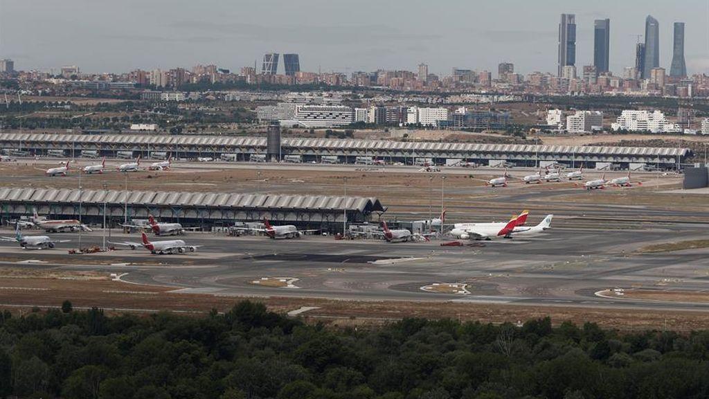 El aeropuerto Adolfo Suárez-Barajas